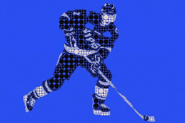piktogram hokejisty