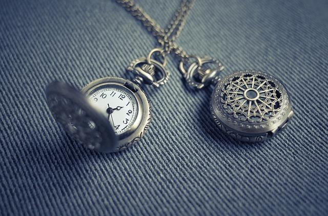 kapesní hodinky na řetízku