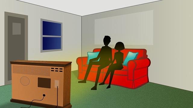 televizní obrazovka