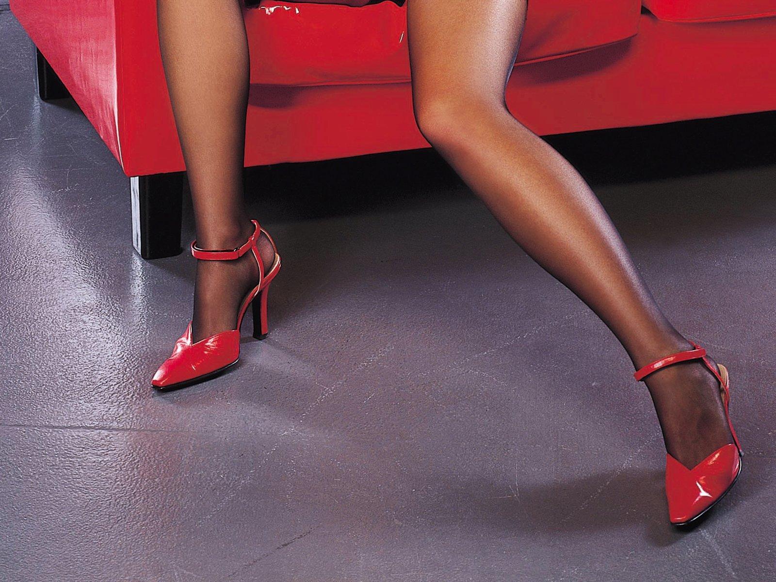 nohy, žena